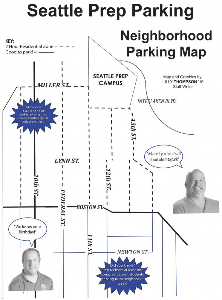 The Seattle Prep Panther | Seattle Prep Parking